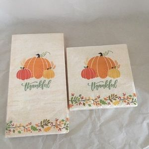 Other - Thanksgiving Fall guest and dessert paper napkins